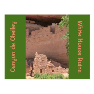 White House Ruins Canyon de Chelly Post Card
