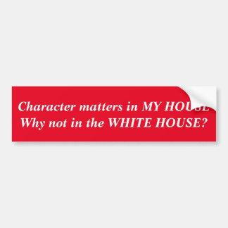 White House Sticker Bumper Sticker