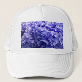 White Hydrangea flower background Trucker Hat