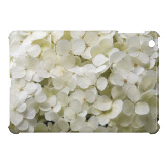 White Hydrangea iPad Mini Case