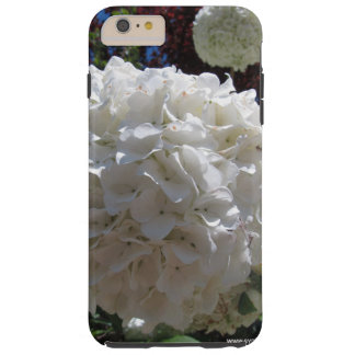 White hydrangea Iphone 6 plus case