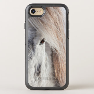 White Icelandic Horse face, Iceland OtterBox Symmetry iPhone 8/7 Case