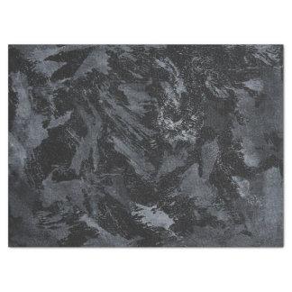 White Ink on Black #2 Tissue Paper