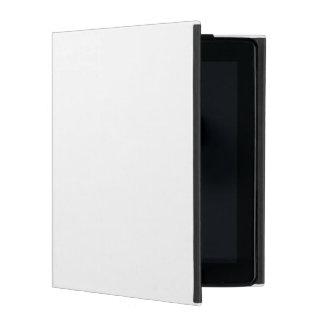 White iPad Folio Case