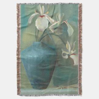 White Iris Blanket