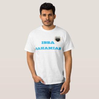 """White """"ISSA BAHAMIAN"""", """"Bahamian Pride"""" T-Shirt"""