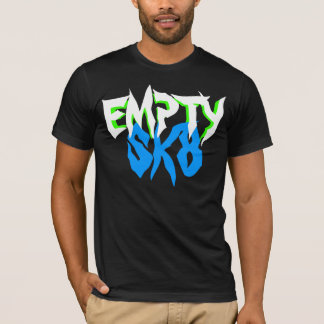 White Jagged Empty T T-Shirt