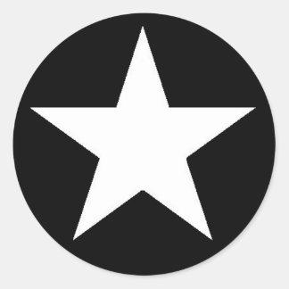 White Jammer Star Sticker