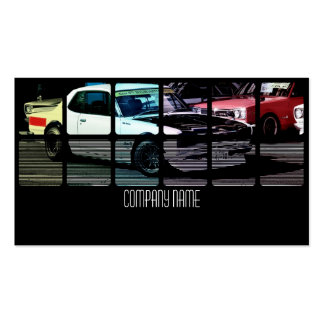 White Japan Car in  Different Colors Pack Of Standard Business Cards