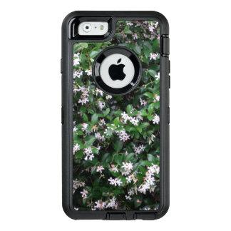 White Jasmine Flower Otterbox Defender iPhone Case