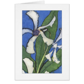 White Jasmine Notecard 2 Note Card