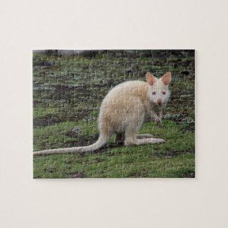 White Kangaroo Puzzle