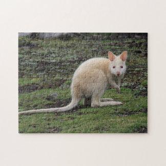 White Kangaroo Puzzles