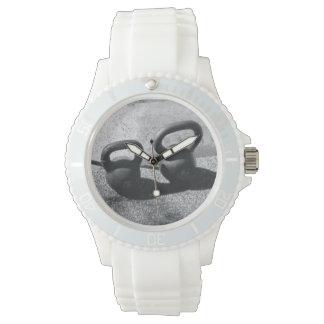 White Kettlebell Watch