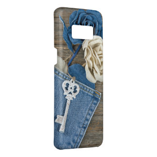 white key on denim Case-Mate samsung galaxy s8 case