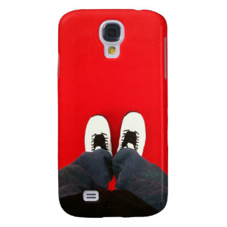 White Kicks Black Pants iPhone 3G 3GS Case Galaxy S4 Cover