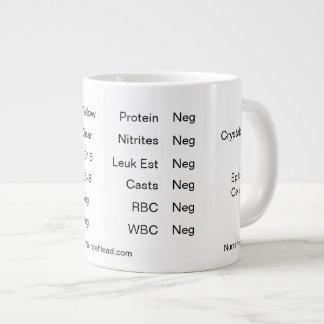 "White Lab Cup ""Urinalysis"""