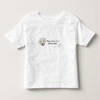 white lab toddler T-Shirt