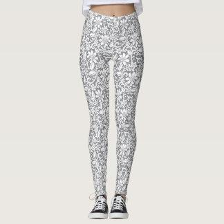 White Lace 1 Leggings