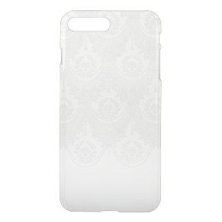 White Lace Clear iPhone 7 Plus Case