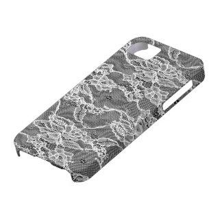white lace, feminin, marriage, wedding, flower iPhone 5 case