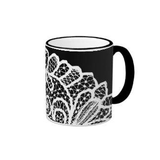 White Lace Mug