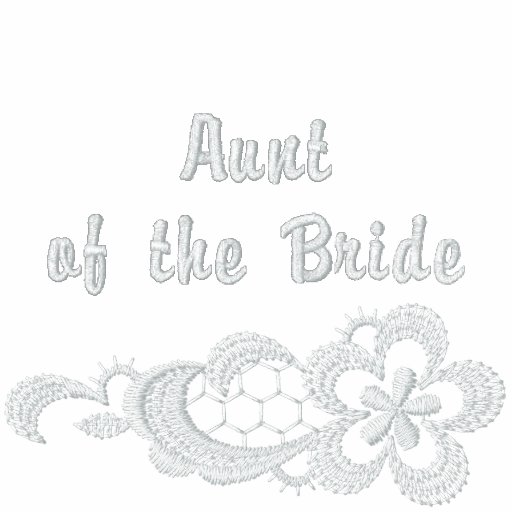 White Lace Wedding - Aunt of the Bride