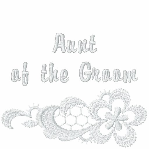 White Lace Wedding - Aunt of the Groom