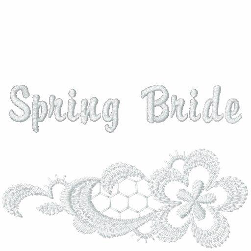 White Lace Wedding - Spring Bride