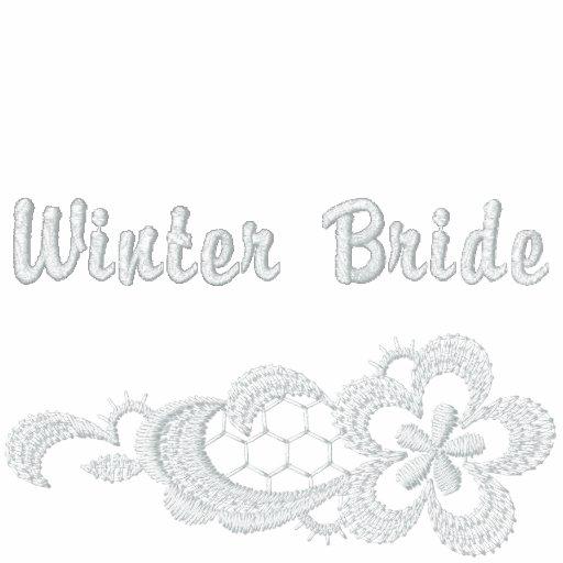 White Lace Wedding - Winter Bride