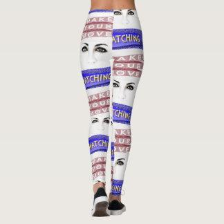 white ladies long leggings