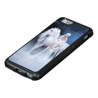 White Lady and Unicorn OtterBox iPhone 6 Case
