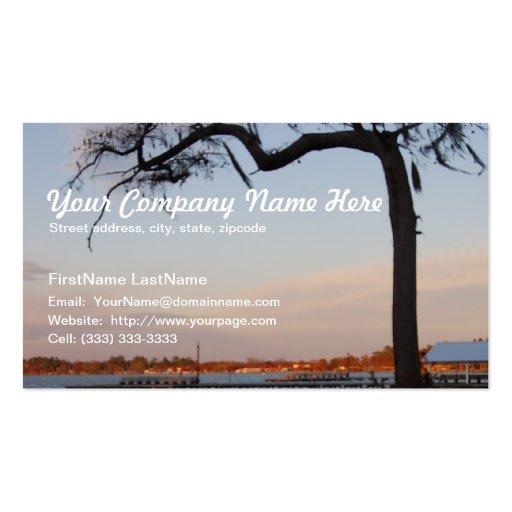 White Lake Beach Business Card Template