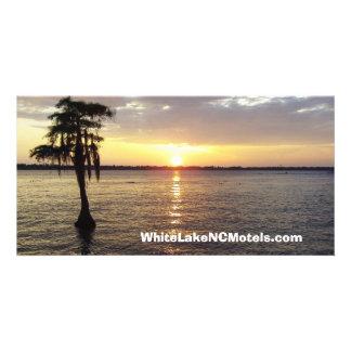 White Lake NC Sunset Photo Post Card Photo Card