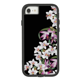 White Lavender Orchid Flowers iPhone 7 8 Case