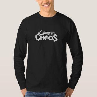 White-LC-Logo on Black Long Sleeve Tshirt