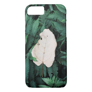 White Leave iPhone 7 Case