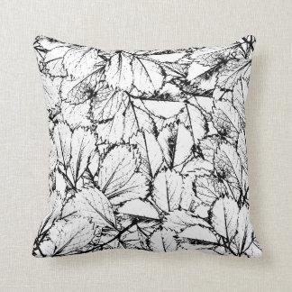 White Leaves Cushion