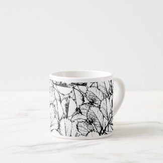 White Leaves Espresso Cup
