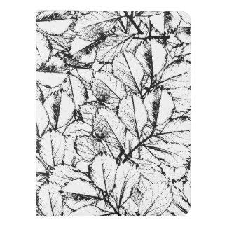 White Leaves Extra Large Moleskine Notebook