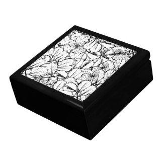White Leaves Gift Box