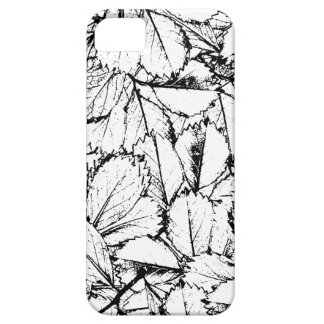 White Leaves iPhone 5 Covers
