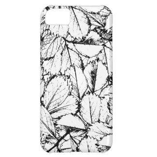 White Leaves iPhone 5C Case