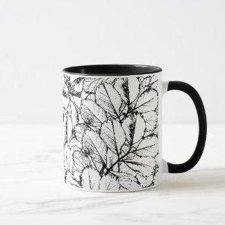 White Leaves Mug