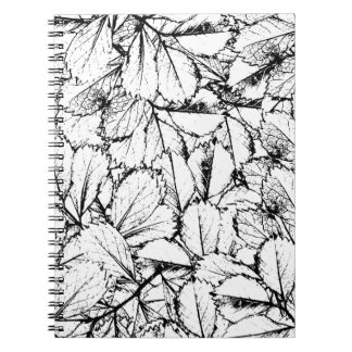 White Leaves Notebook