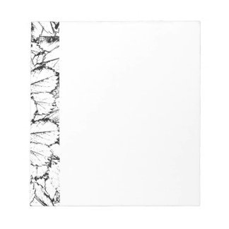 White Leaves Notepad