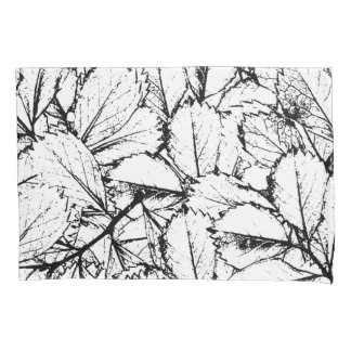 White Leaves Pillowcase