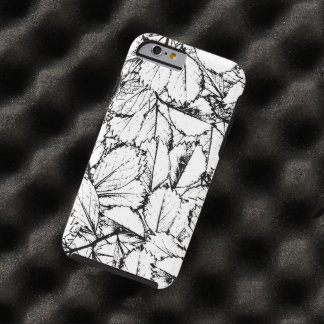 White Leaves Tough iPhone 6 Case