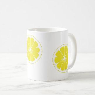 White Lemon Mug