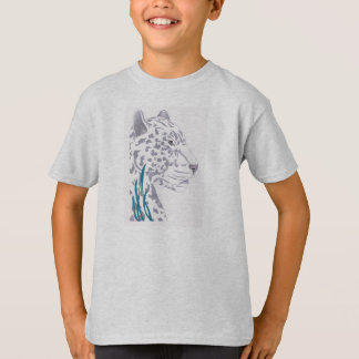 White Leopard Kid's T's T-Shirt